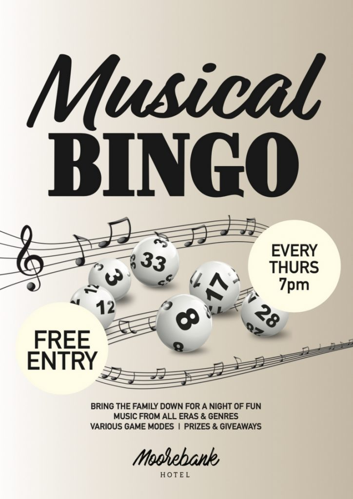 The Moorebank Hotel Musical Bingo